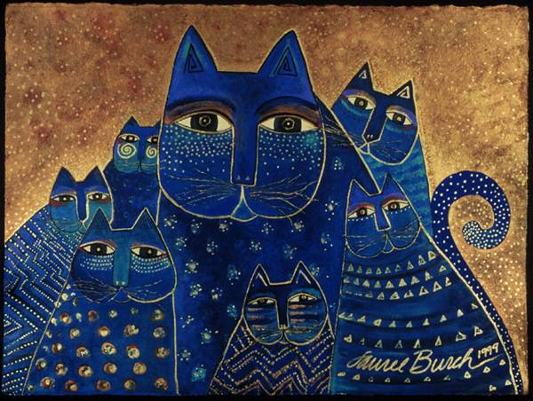 Les chats de Laurel Burch, juste pour le plaisir :